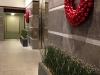 Lobby wreaths